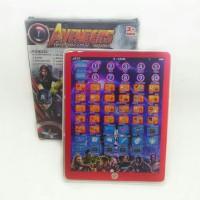 Mainan Edukasi Ipad 2 Bahasa Edisi Avengers