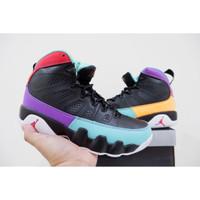 Sepatu Basket Jordan 9 Dream It Do It Black Hitam
