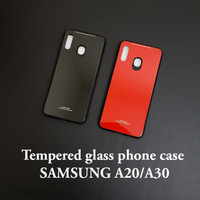 Samsung a20 / a30tempered glass phone case