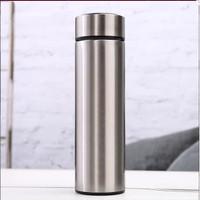 [SILVER Termos Tabung Polos 500ml / Tumbler Botol Vacuum Souvenir BT26