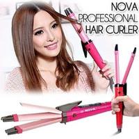 catok rambut 2in1 merek NOVA NHC1818S