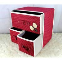 LST03 Laci Multifungsi / Box Organizer / 3 in 1 Storage Drawer