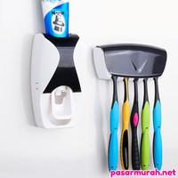 [ NEW-8119 ] Dispenser Odol Kotak Sikat Gigi Unik