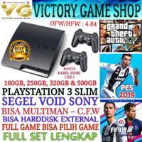 PS3 PS 3 PLAYSTATION 3 SLIM 500GB OFW/ + STIK + FULL GAME (BISA MILIH)