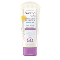 Aveeno Baby Continuous Protection Sensitive Skin Lotion SPF 50 88ml