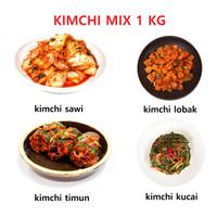 kimchi authentic korea Mix 1 KG dibuat oleh chef korea.