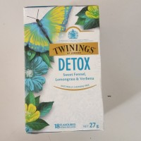 Twinings DETOX fennel, lemongrass, verbena caffeine free