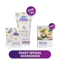 FiberCreme Paket Spesial Ramadan FREE Buku Resep