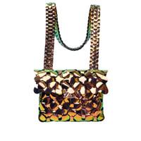 Byo Anatomy Bag in Iridescent Gold