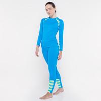 CoreNation Active Hannah Two Piece Swimsuit - Turquoise