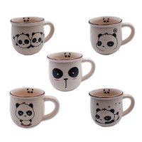 MUG MODEL TULIP (PANDA SERIES) CREAM LIGHT (Z-SIT-QYM-TLP 13OZ PANDA S