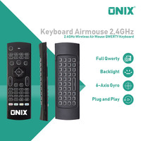 Onix Delta - Smart Remote / Air Mouse / Wireless Keyboard in 1 Device