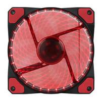 Fasn Case GAMEMAX GALEFORCE GMX-GF12R | 120mm Red LED Cooling Fan