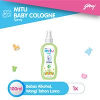 Mitu Baby Cologne Green [Spray 100ml]