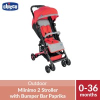 Chicco Miininmo 2 Stroller with Bumper Bar Paprika