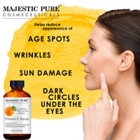 Serum Vitamin C Wajah MAJESTIC PURE 30mL