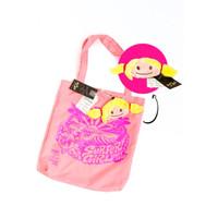Surfer Girl X TASINI Foldable Shop Bag 18SEPASBS01PNK