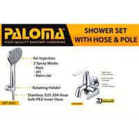 PALOMA FCP 6276 SSP 2302 Paket Keran Cabang Shower Set Mandi Tembok