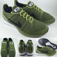 Sepatu Kets Nike Air Zoom Mariah Flyknit Racer Dark Green Hijau