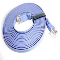 Kabel lan rj45 2m Patch Cord / LAN FLat cat6 up to 1000Mbps 2m