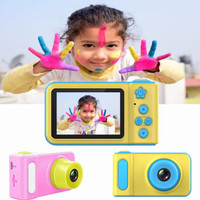 Kamera Mini anak / Kids camera / camera anak / camera kids X1 - Merah