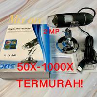 USB Digital Microscope 50-1000X Zoom . Magnifier Lensa Kaca pembesar