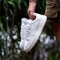 Sepatu Adidas Supercourt FullWhiteLeather 36-43 ORIGINAL BNWB TERMURAH