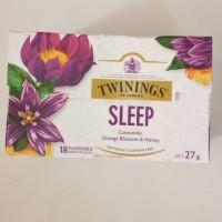Twinings SLEEP camomile, orange blossom, honey caffeine free