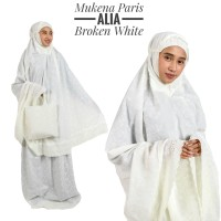 Mukena Paris Alia Broken White (Bw)