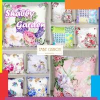 Sarung Bantal Sofa Cushion Ukuran 40 x 40 cm Shabby Garden