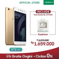 OPPO A71 2GB/16GB - Gold