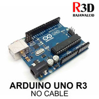 Arduino Uno R3 DIP 16u2 Grade Clone with Logo no USB Cable