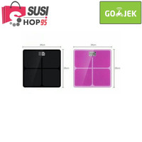 Harga timbangan badan kaca digital elektronik 180kg max | antitipu.com