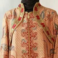 jubah thaisilk batik full payet