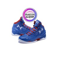 Senakers basket Under Armour Curry 2.0 blue white