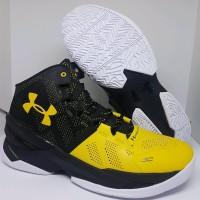 Sepatu Basket Under Armour Curry 2.0 Yellow Black Man Murah
