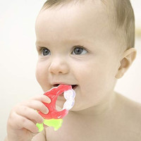 STRAWBERRY CHEWY TEETHER / TEETHER STRAWBERRY