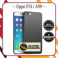 Case Oppo F1S / Oppo A59 Softcase Ultraslim Black Matte Premium TPU