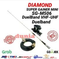 Harga paket antena rig mobil sg 506 duelband radio komunikas dunia | antitipu.com