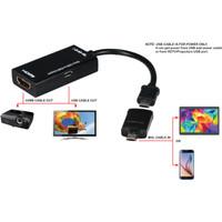 Kabel MHL Converter Micro USB to HDMI Kabel for HP Android ke TV HDMI