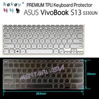 Keyboard Protector ASUS VivoBook S13 S330UN - KAKAY Premium TPU Clear