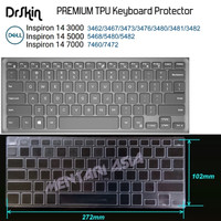 Keyboard Protector DELL Inspiron 14 3000 5000 7000 - DrSkin PREMIUM