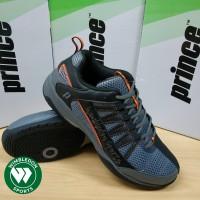 Sepatu Tenis Prince Vortex / Sepatu Prince Vortex Grey Black Orange