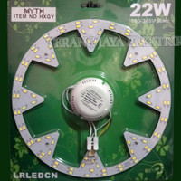 Lampu LED TL RING 3 Mode 22watt/18W MYTH