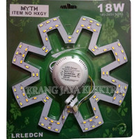Lampu LED TL RING 3 Mode 18watt/18W MYTH