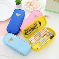 Kotak pensil dan stationery BIG / dompet pensil candy color edition