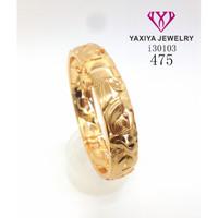 Gelang Tangan lapis emas perhiasan imitasi 475