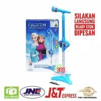 Mainan Anak Microphone Frozen Biru / Karaoke Frozen
