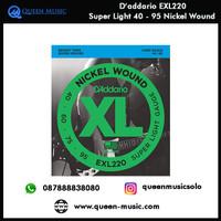 senar daddario exl220 nickel wound bass 40 - 95