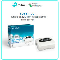 TP-Link TL-PS110U Single USB2.0 Port Fast Ethernet Print Server